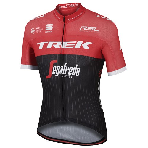 [해외][스포츠풀] Trek Segafredo 2017 Pro Race Jersey - Black Red