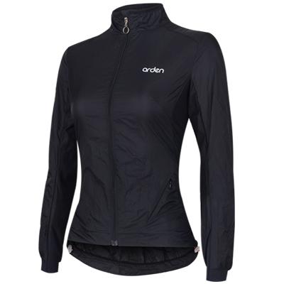 [아덴바이크웨어] 여성용 시빅 윈드 자켓 / 블랙