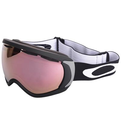 [오클리고글 16/17] 아시안 캐노피 매트 블랙 / VR50 핑크 이리듐 / Canopy Matte Black VR50 Pink Iridium(57-777J)